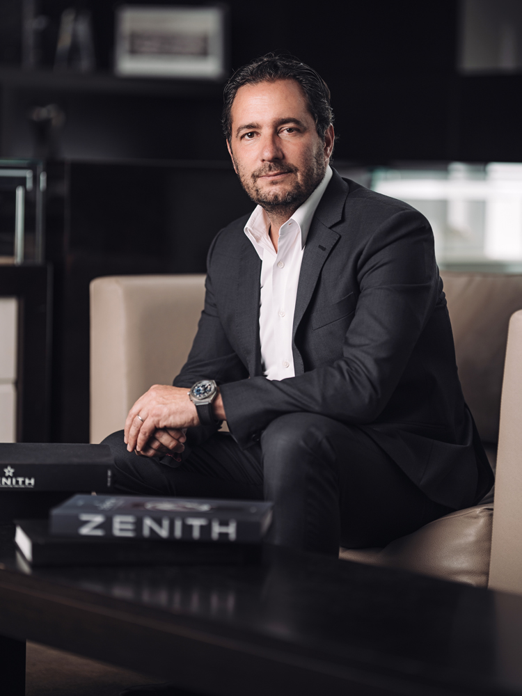 Julien Tornare, CEO of Zenith
