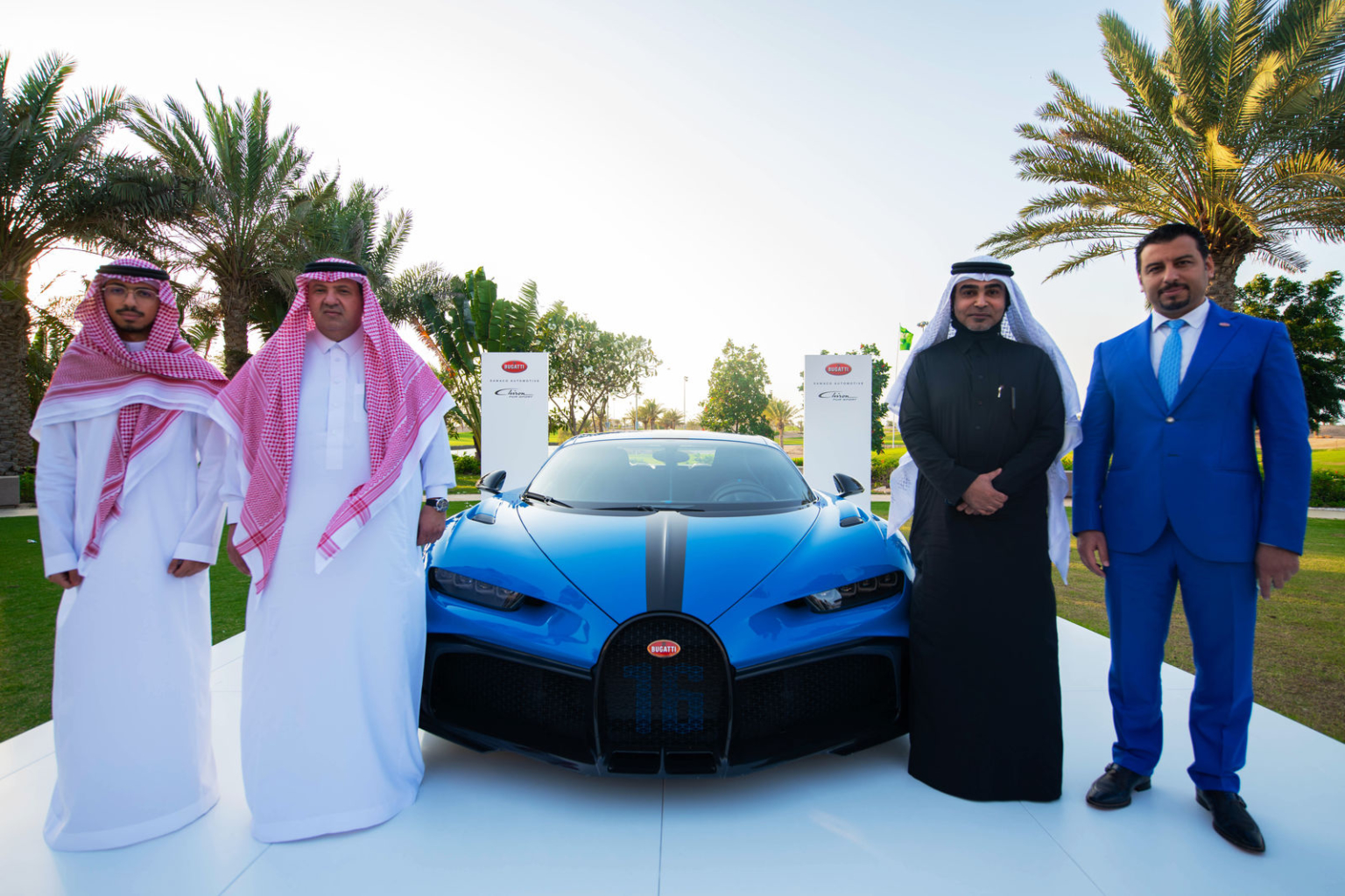 Bugatti in the Middle East new Dealer Partner in Saudi Arabia
