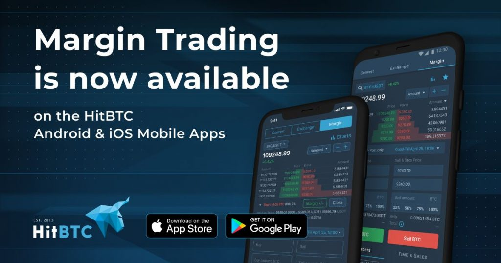 Margin Trading is now live on our Android and iOS Mobile Apps