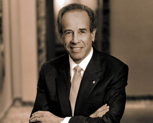 ISADORE SHARP - Founder and Chairman - Four Seasons Hotels and Resorts