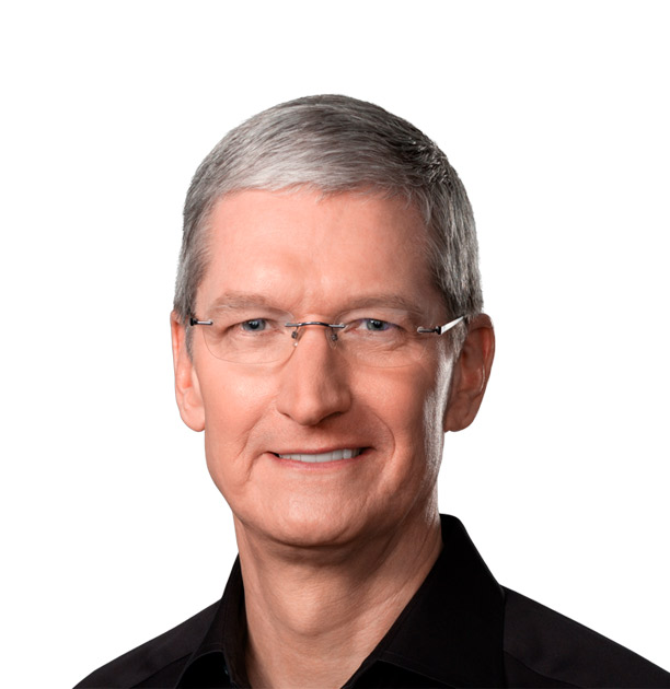 Tim Cook is the CEO of Apple and serves on its board of directors