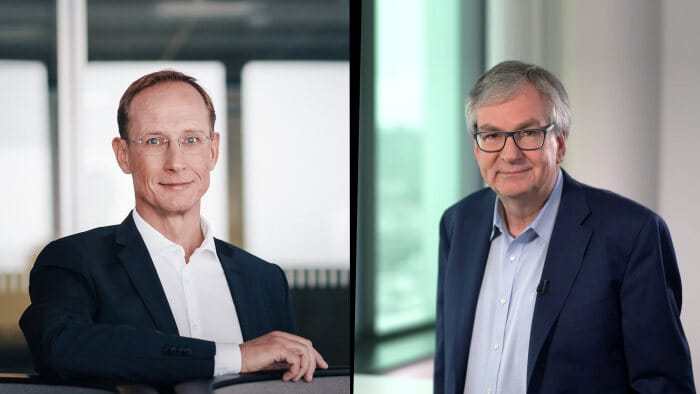 Daimler Truck CEO and CureVac CEO discuss on innovations in the podcast